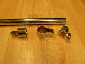 RVS 316 titanium ongegloeid.